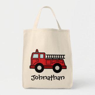Cartoon Clip Art Firetruck Emergency Vehicle Truck Bag