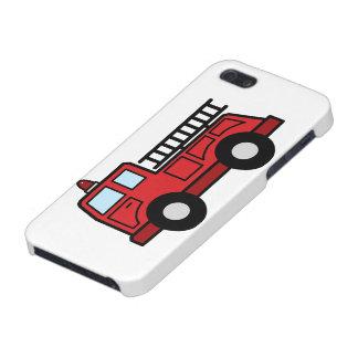 Cartoon Clip Art Firetruck Emergency Vehicle Truck iPhone 5 Covers