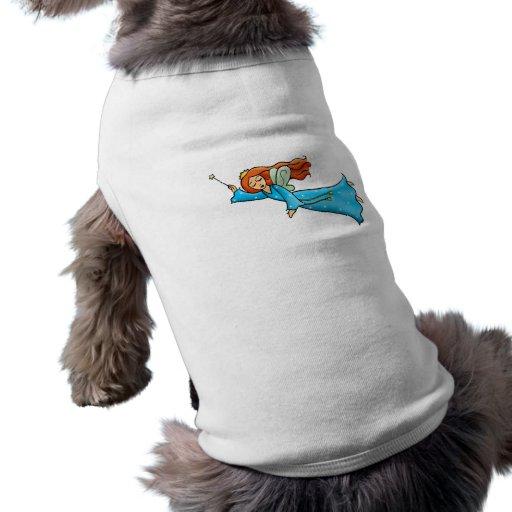 Cartoon Clip Art Flying Fairy Princess Magic Wand Pet Shirt