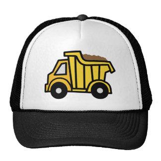 Cartoon Clip Art with a Construction Dump Truck Cap