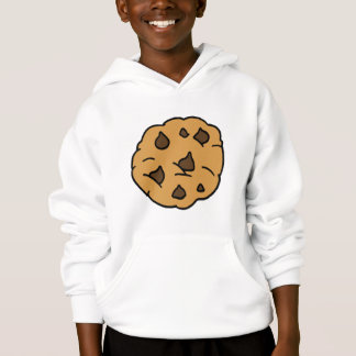 Cartoon Clipart HUGE Chocolate Chip Cookie Dessert
