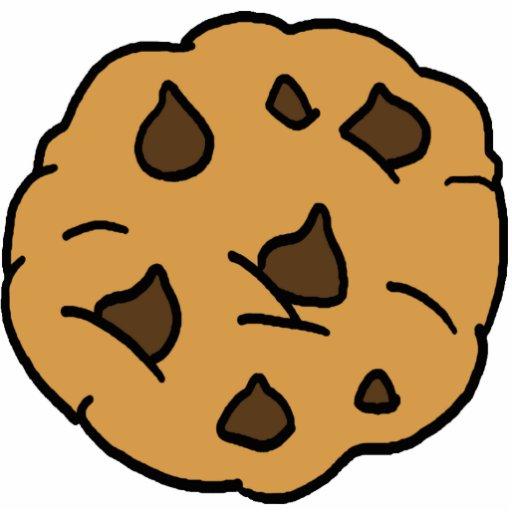 Cartoon Clipart HUGE Chocolate Chip Cookie Dessert Photo Cutouts Zazzle