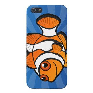 Cartoon Clownfish Cover For iPhone 5/5S