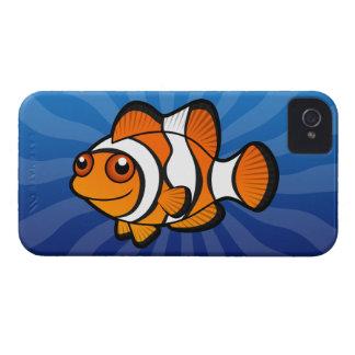 Cartoon Clownfish iPhone 4 Cover
