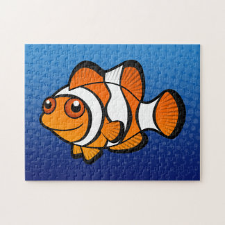 Cartoon Clownfish Jigsaw Puzzle