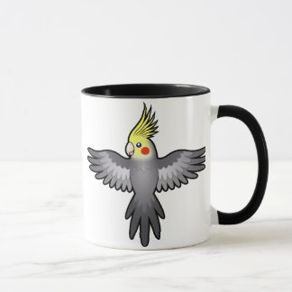 Cartoon Cockatiel Mug