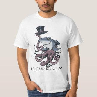 Cartoon Color, I CHOMP therefore I AM T-Shirt