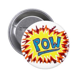 Cartoon Comics Sound Effect POW Button