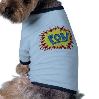 Cartoon & Comics Sound Effect POW! Pet Tee