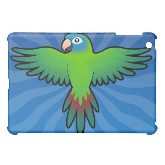 Cartoon Conure / Lorikeet / Parrot iPad Mini Covers