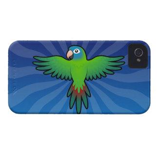 Cartoon Conure / Lorikeet / Parrot iPhone 4 Case-Mate Case