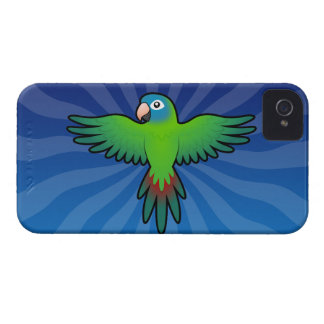 Cartoon Conure / Lorikeet / Parrot iPhone 4 Cases