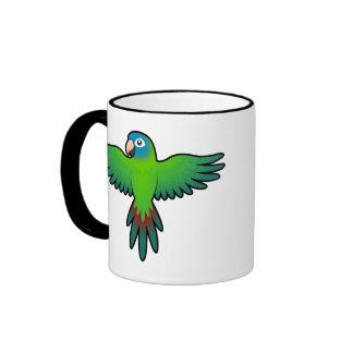 Cartoon Conure / Lorikeet / Parrot Mugs