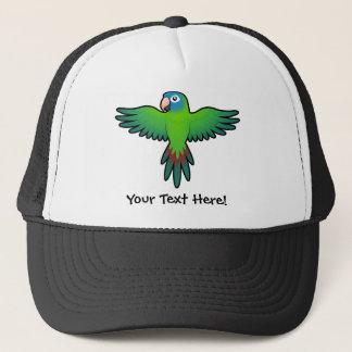 Cartoon Conure / Lorikeet / Parrot Trucker Hat