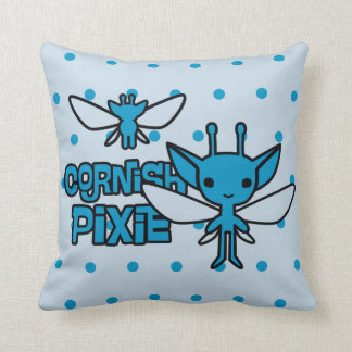 Cartoon Cornish Pixie Character Art Cushion