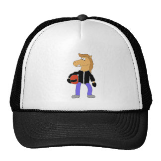 Cartoon Country Music Horse Cap
