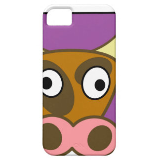 Cartoon cow barely there iPhone 5 case