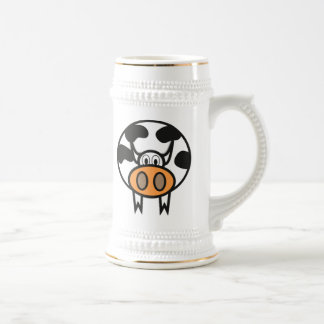 Cartoon Cow Beer Steins