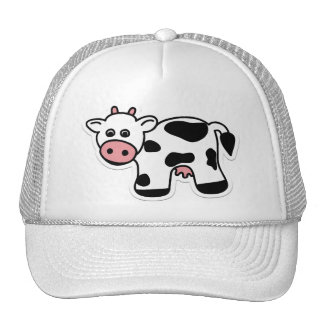 Cartoon Cow Cap