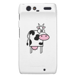 Cartoon Cow Motorola Droid RAZR Covers