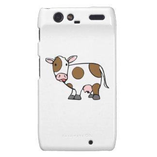 Cartoon Cow Motorola Droid RAZR Case