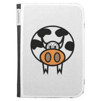 Cartoon Cow Kindle 3G Cases