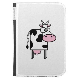 Cartoon Cow Kindle Keyboard Cases