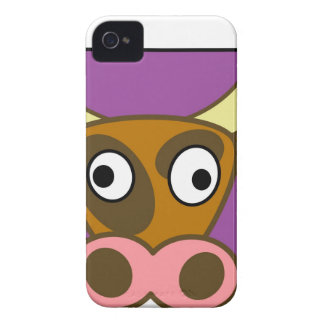Cartoon cow Case-Mate iPhone 4 case