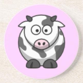 cartoon cow coaster