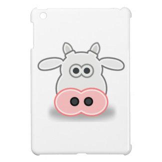 Cartoon Cow Face and Head iPad Mini Covers