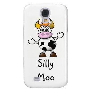Cartoon Cow Galaxy S4 Case