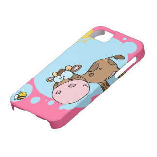 Cartoon Cow iPhone 5 Case