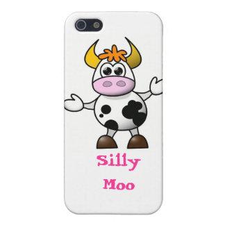 Cartoon Cow iPhone 5 Case