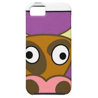 Cartoon cow iPhone 5 covers