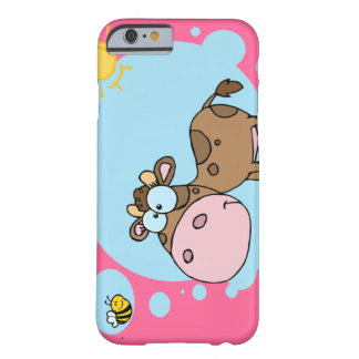 Cartoon Cow iPhone 6 case Barely There iPhone 6 Case