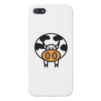 Cartoon Cow Cover For iPhone 5