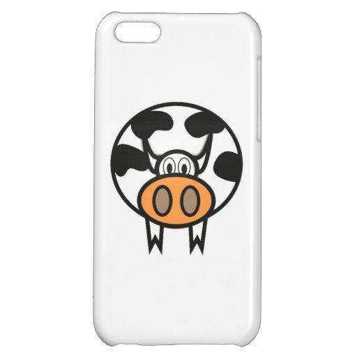 Cartoon Cow iPhone 5C Case