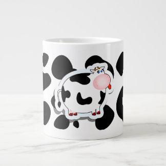 Cartoon cow, mug jumbo mug