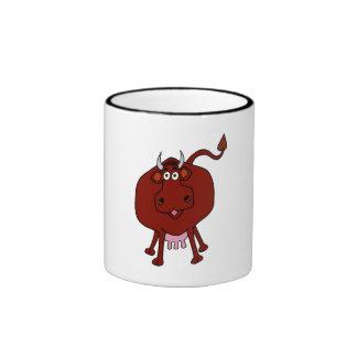 Cartoon Cow Coffee Mugs