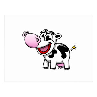 Cartoon Cow Postcards