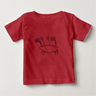 Cartoon Crab Character Baby T-Shirt