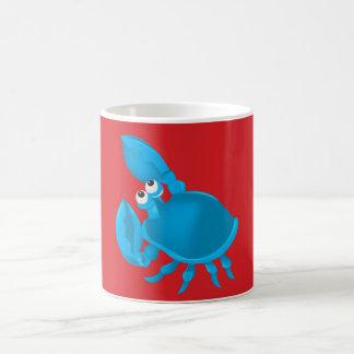 Cartoon crab coffee mug