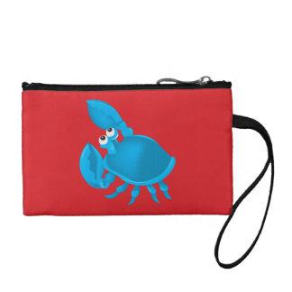 Cartoon crab coin purse