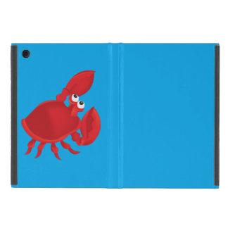 Cartoon crab iPad mini cover