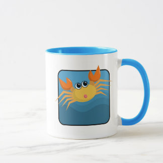 Cartoon crab mug