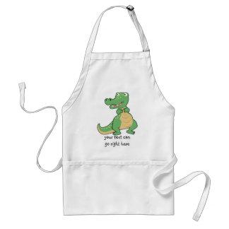 Cartoon Crocodile Apron