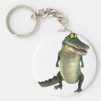 Cartoon Crocodile Key Ring