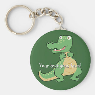 Cartoon Crocodile Keychain