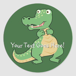 Cartoon Crocodile Sticker