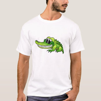 Cartoon Crocodile T-Shirt